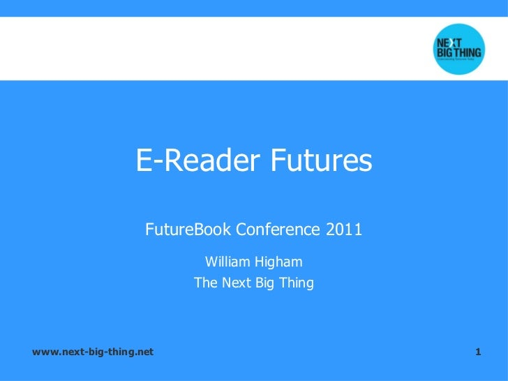 The Next Big Thing: Book Consumption In 2020