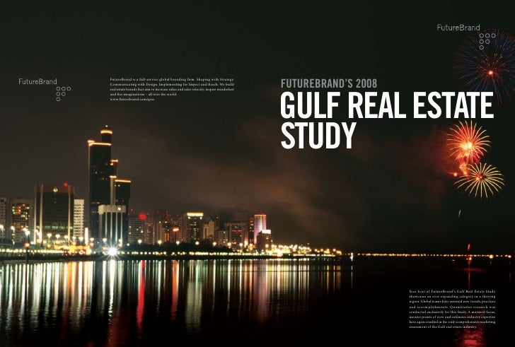 FutureBrand's 2008 Gulf Real Estate Study