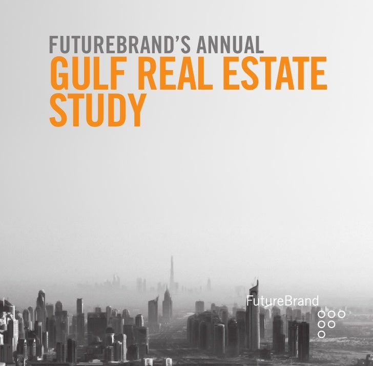 Futurebrand's annual GulF real estate study