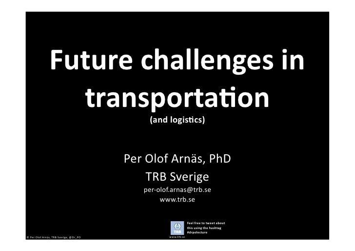 Future challenges in transportation (handels 20101011).pptx