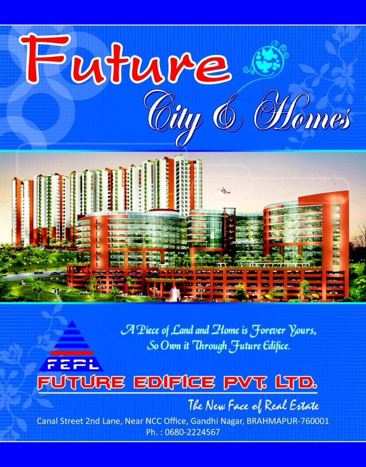 Future Edifice Brochure Jan 2011