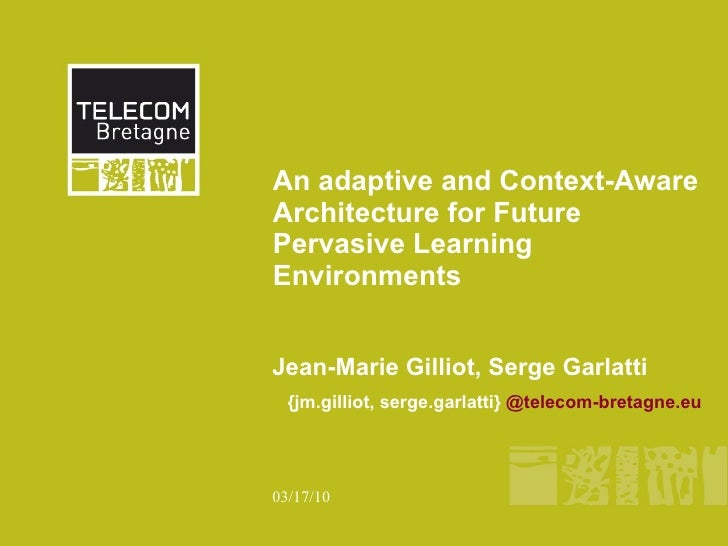 Future Learning Landscape Towards the Convergence of   Pervasive and Contextual computing,  Global Social Media and   Sema...