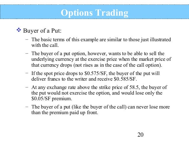 Future option trading wiki