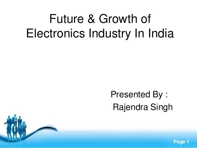 electronics industry in india India's electronics industry should manufacture innovative products - e v rao ▻ watch more business videos at indias leading online business channel http://w.