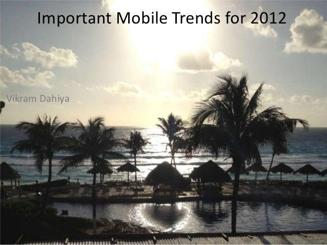 Future Mobile Trends