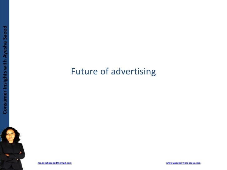 Future Of Advertising And Impact Of Technology