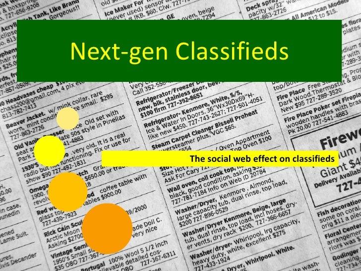 Future Of Classifieds