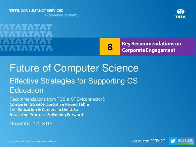 Future of computer science - Key recommendations on corporate engagement