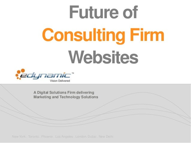 A Digital Solutions Firm delivering Marketing and Technology Solutions New York . Toronto . Phoenix . Los Angeles . London...