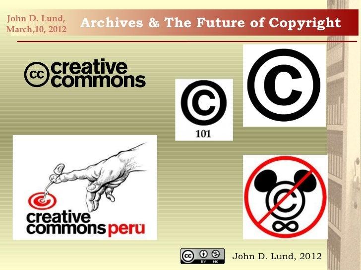 Future of copyright lund