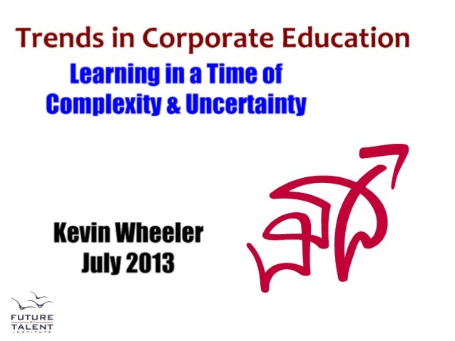 Future of corporate education