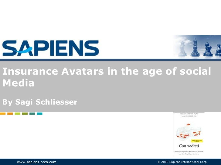 By Sagi Schliesser<br />Insurance Avatars in the age of social Media<br />