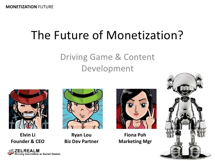 The Future of Monetization?<br />Driving Game & Content Development<br />Elvin Li<br />Founder & CEO<br />Ryan Lou<br />Bi...
