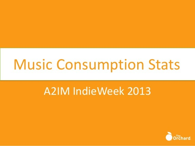 Music Consumption Stats