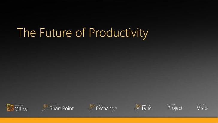 Future of productivity hau lu