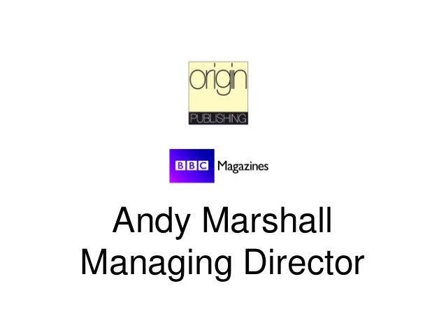 Andy Marshall Managing Director