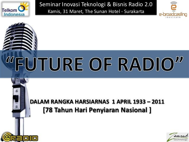 Future of radio v harsiarnas 31 maret 2011