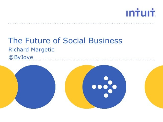 people The Future of Social Business Richard Margetic @ByJove