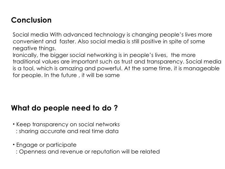 conclusion about social media essay