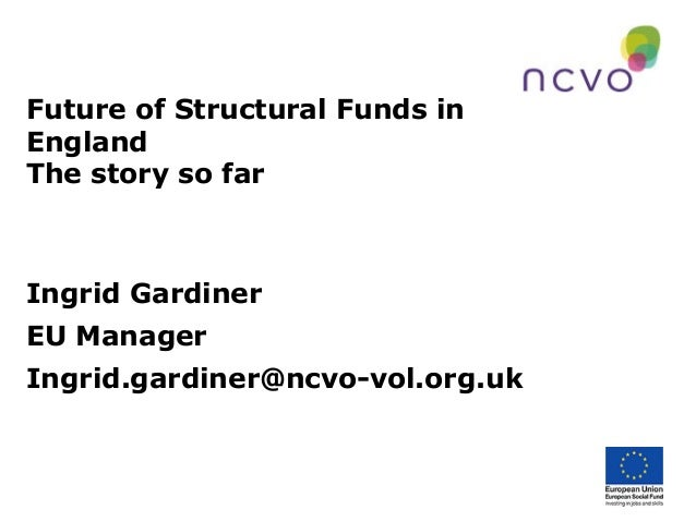 Future of structural funds in England: Story so far