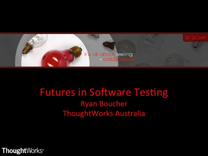 Futures in software testing