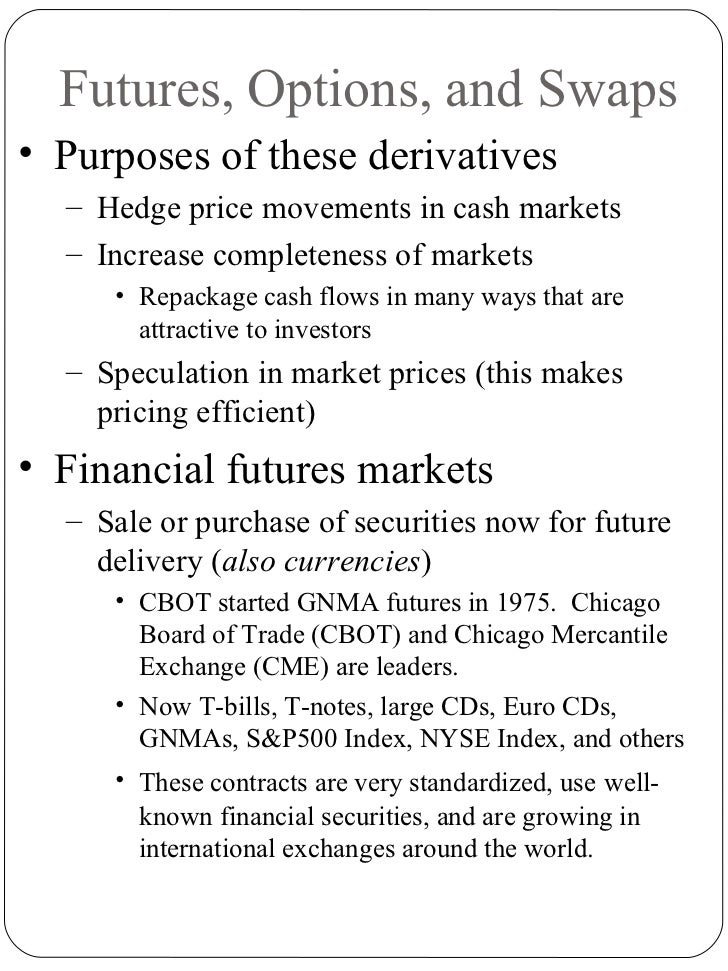 Futures options and swaps ppt @ bec doms bagalkot