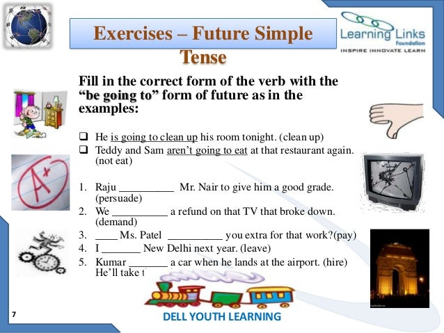 How to Use Past Tense, Present Tense, and Future Tense