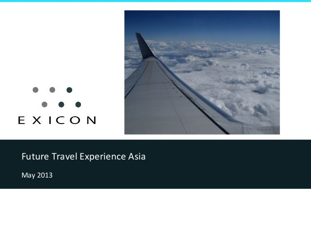 Future Travel Experience Asia