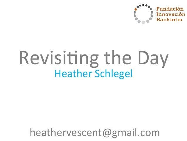 Bankinter Future Trends Forum 2014 - Future of Currency Recap by Heather Schlegel