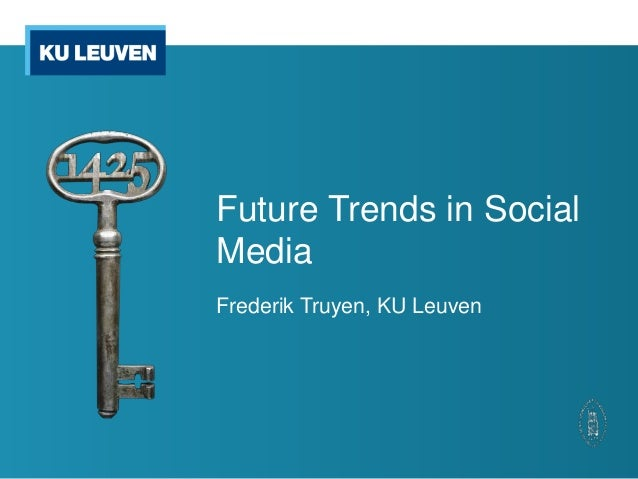 Future trends in Social Software