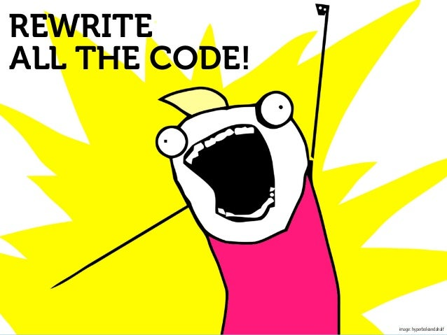 Writing code vs Writing?
