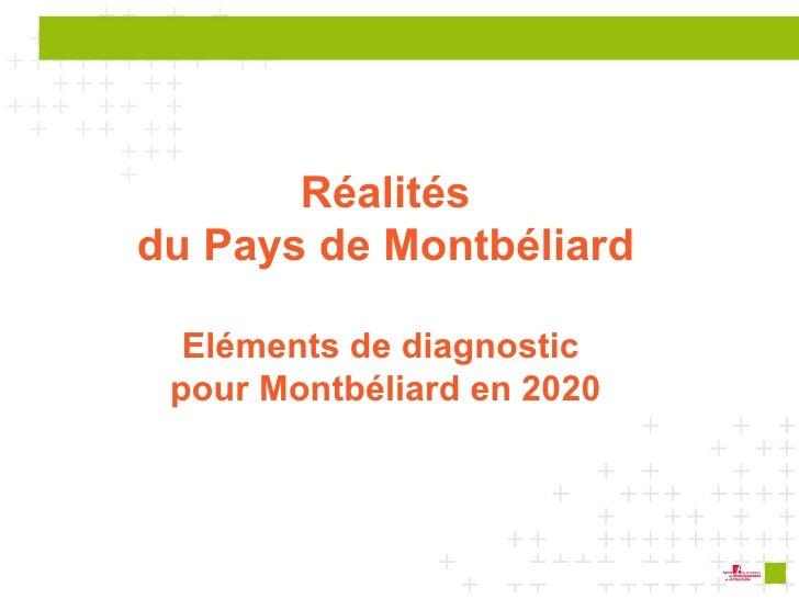 Réalités du Pays de Montbéliard Eléments de diagnostic  pour Montbéliard en 2020
