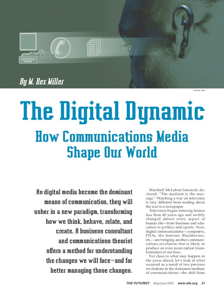 Digital Dynamic - Futurist Magazine