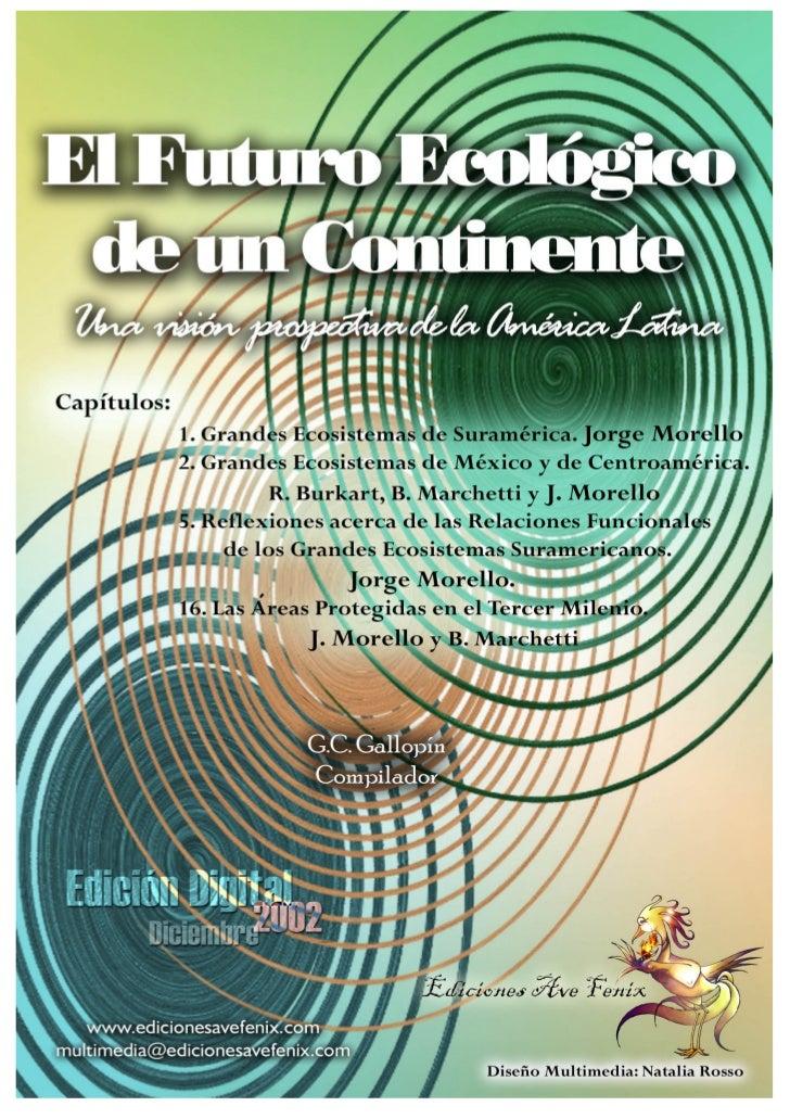 Grandes Ecosistemas de México y de Centro América                                                              -1-        ...