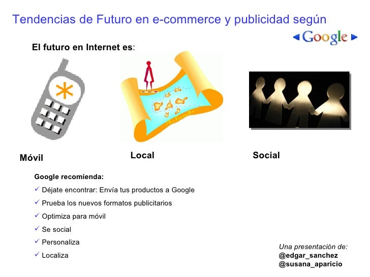Futuro de Google y Yahoo! Móvil, Local y Social