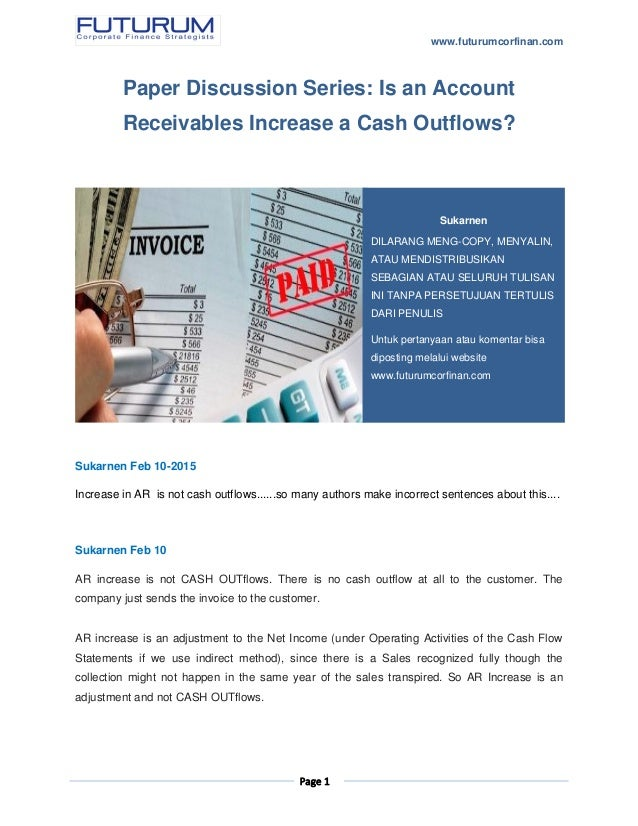 thesis for accounts receivable