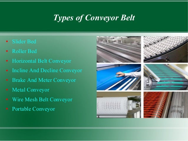 three types of conveyors essay In high school and college there are several types of essays that students face these styles encompass writing skills that students need throughout life, excluding technical writing, and mastering the styles early allows students to focus their efforts on content rather than form each.