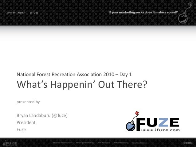 FUZE | National Forest Recreation Association Day 1