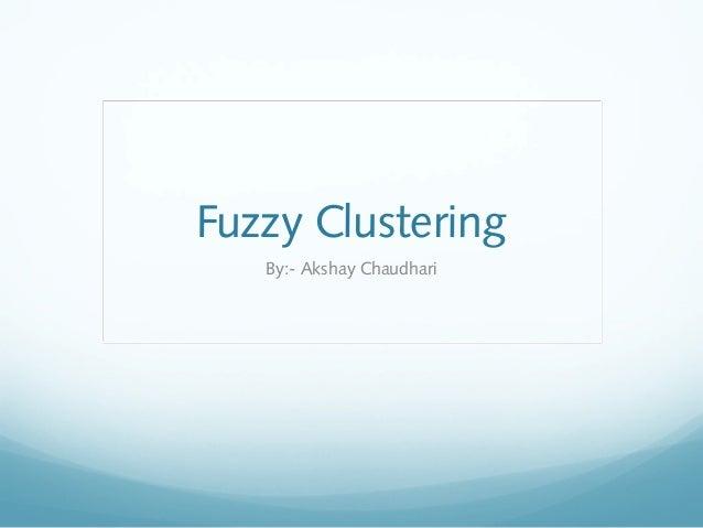 Fuzzy dm