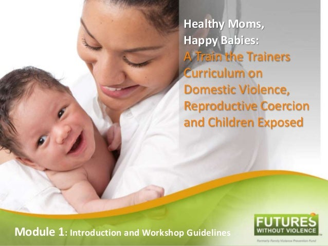 Healthy Moms, Happy Babies: A Train the Trainers Curriculum on Domestic Violence, Reproductive Coercion and Children Expos...