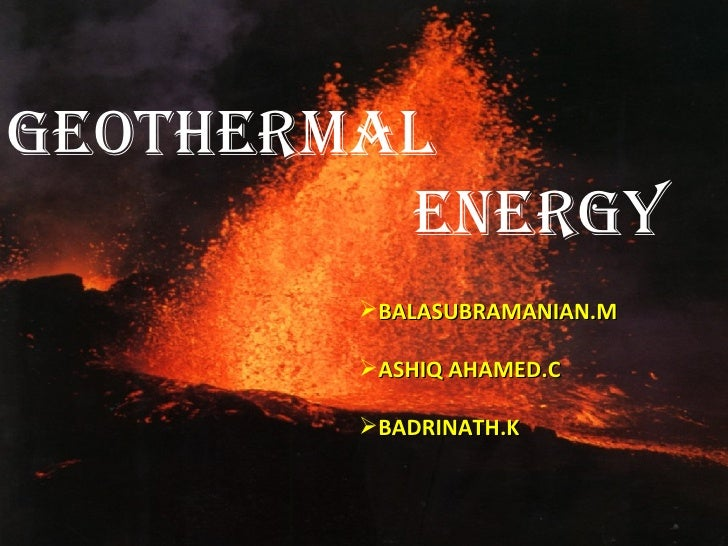 Fwd: geothermal --first set of slides