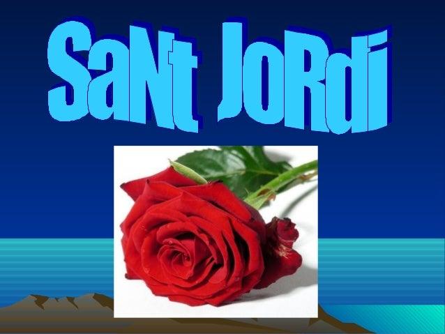 LA LLEGENDA • SANT JORDI VA SALVAR A UNA PRINCESA D'UN DRAC.