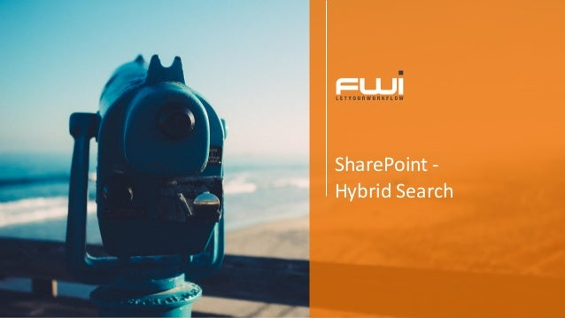 SharePoint - Hybrid Search