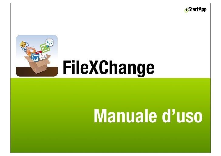 FileXChange   Manuale d'uso