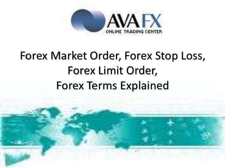 Forex trading terms and definitions