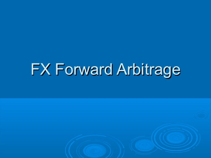 Forward trade forex