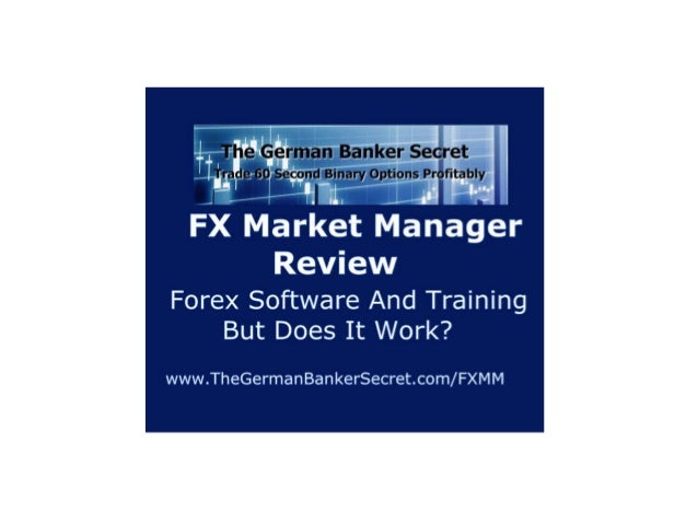 FX Market Manager by David Elder A Community Of Forex Traders With Software, Systems And Tutorials Is It Worth It? www.The...