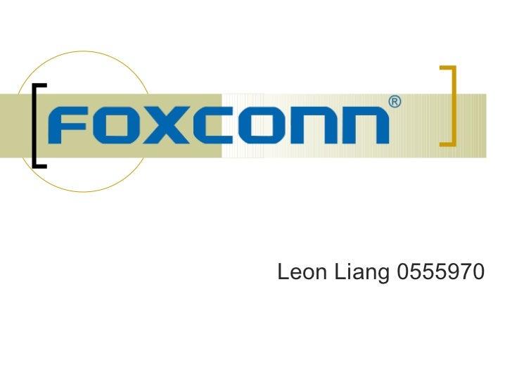 Leon Liang 0555970