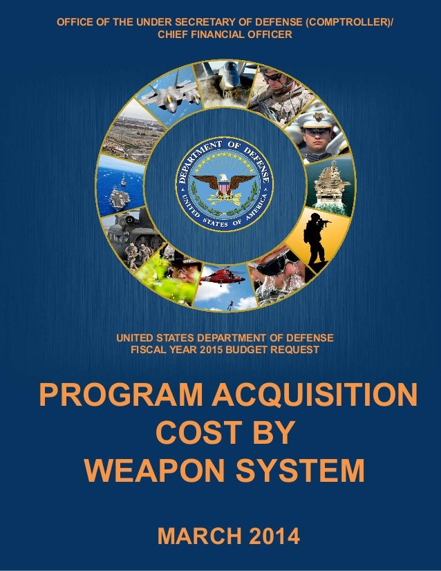 FY2015 President's Budget Program Acquisition Costs by Weapon  System