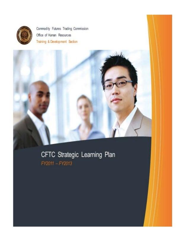 Fy2011 strategic learning plan